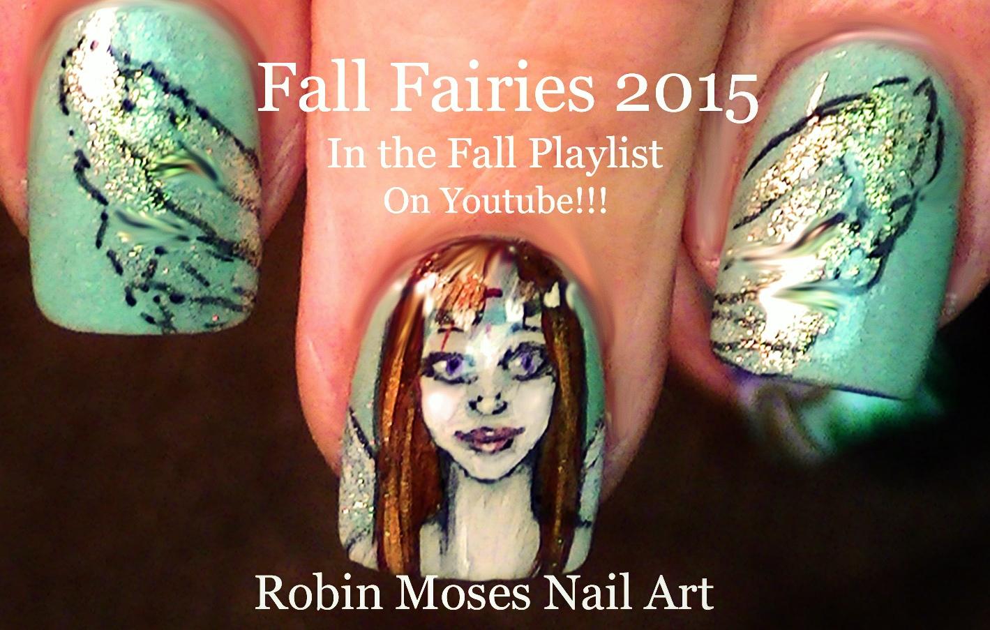 Nail Art by Robin Moses: Fairy Nail Art \