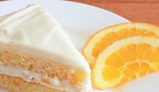 كريمة البرتقال لتزيين الكيك