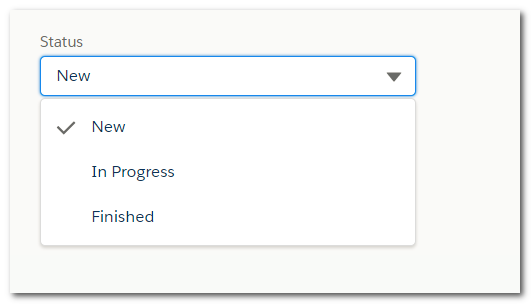 Customize lightning:combobox (picklist) component using only
