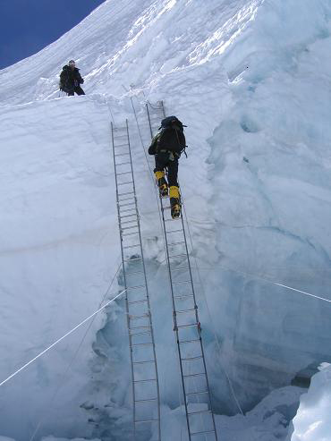 The Best Mount Everest Ice Fall Video - Khumba Ice Fall