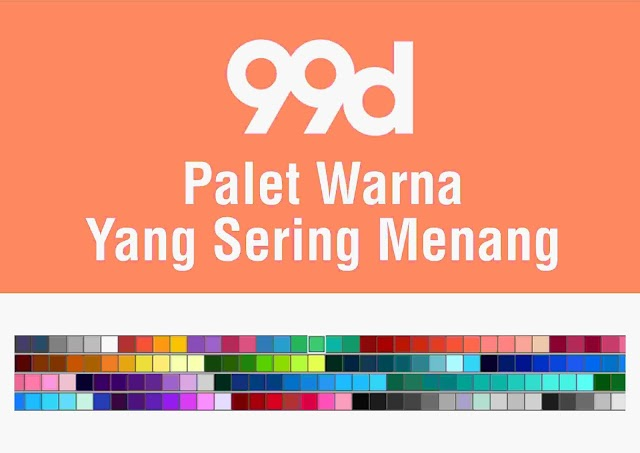 Palet Warna Yang Sering Menang di 99designs