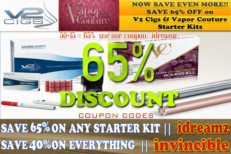 electronic vapor cigarettes coupon code