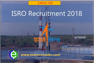 ISRO Recruitment 2018