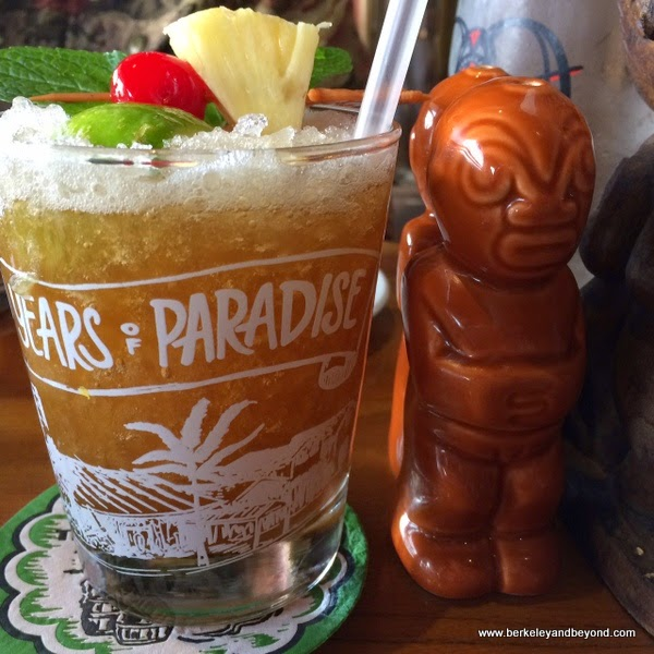 the Original Mai Tai at Trader Vik's in Emeryville, California