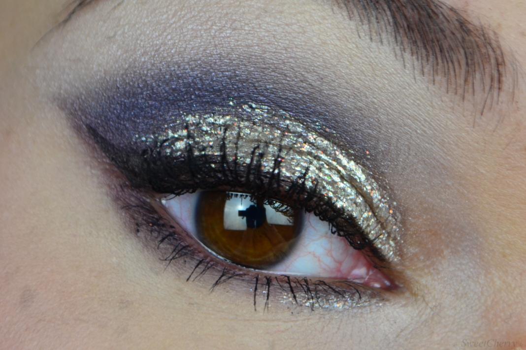 Silvester Make-up Look