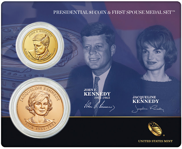 President John F. Kennedy and First Spouse Jacqueline Kennedy