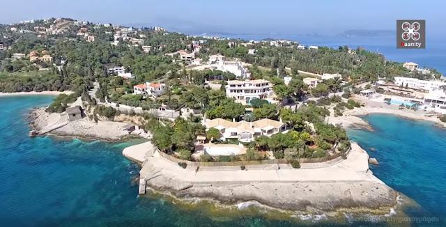 Άγιος Αιμιλιανός: Πτήση πάνω από το ακρωτήρι των επωνύμων στην Αργολίδα