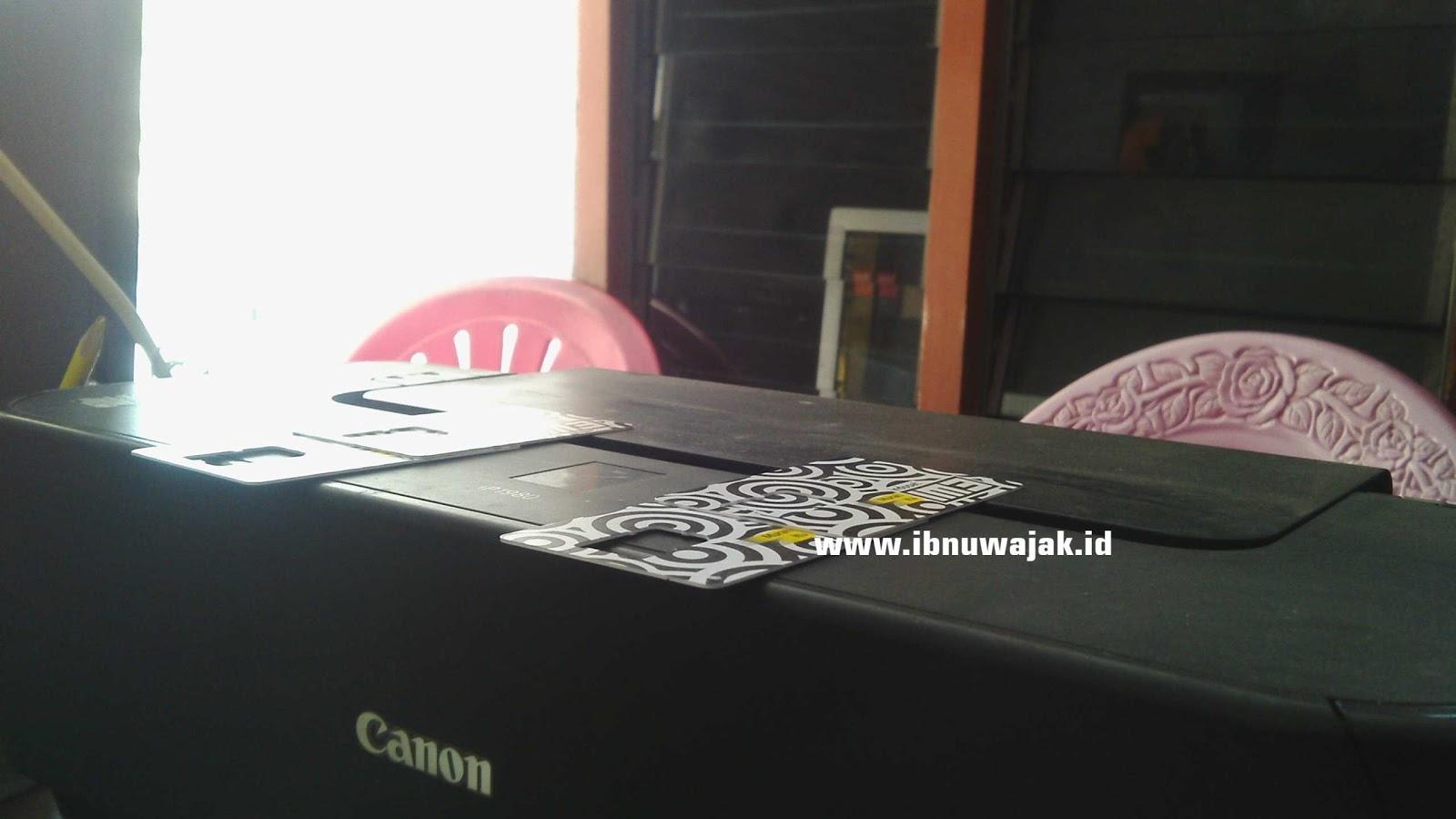 Modifkasi Printer Canon IP1980 Tatakan Lebih Tinggi Enak