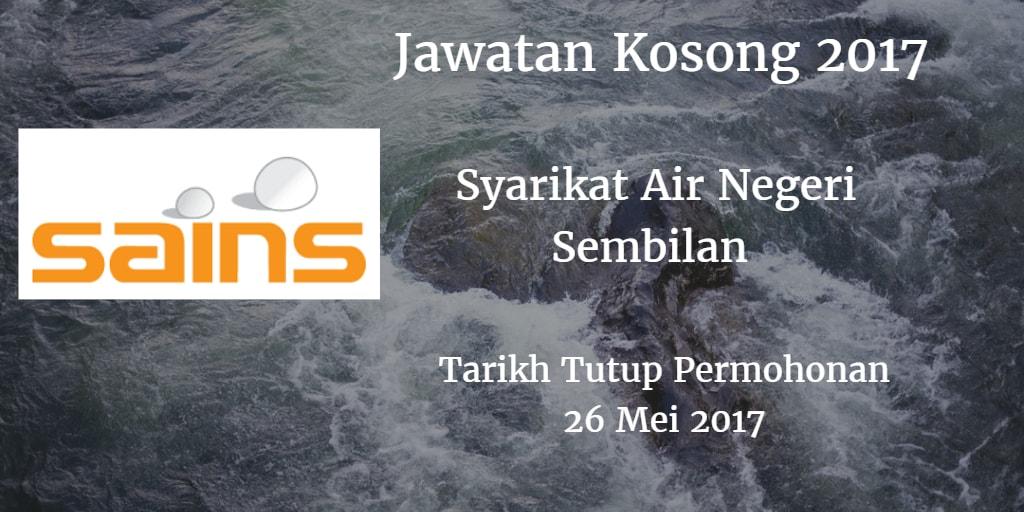 Jawatan Kosong SAINS 26 Mei 2017
