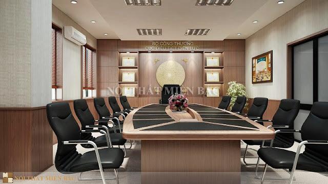 Nâng cao đẳng cấp doanh nghiệp với các mẫu bàn veneer phòng họp - H3