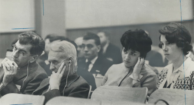 Meeting of the Royal Commission in Sherbrooke, Quebec, 1964