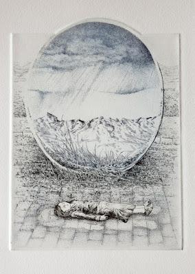 Esfera, detalle del grabado para la edición Van Roey 2010