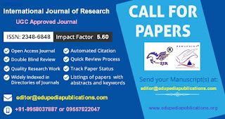 IJR Call for Paper Current Issue - 2017