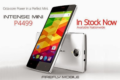Firefly Mobile Intense Mini, 4.5-inch Octa Core for Php4,499