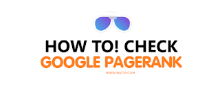 How to check google pagerank, How to check google pagerank, natjp, natjp.com