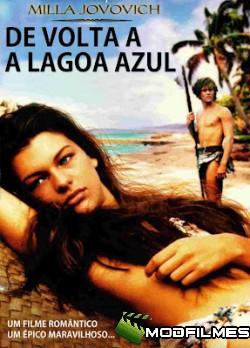 Capa do Filme De Volta a Lagoa Azul