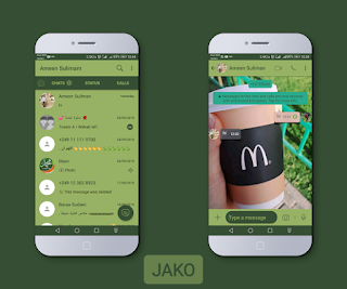 Macdonald Theme For YOWhatsApp & Fouad WhatsApp By Jako