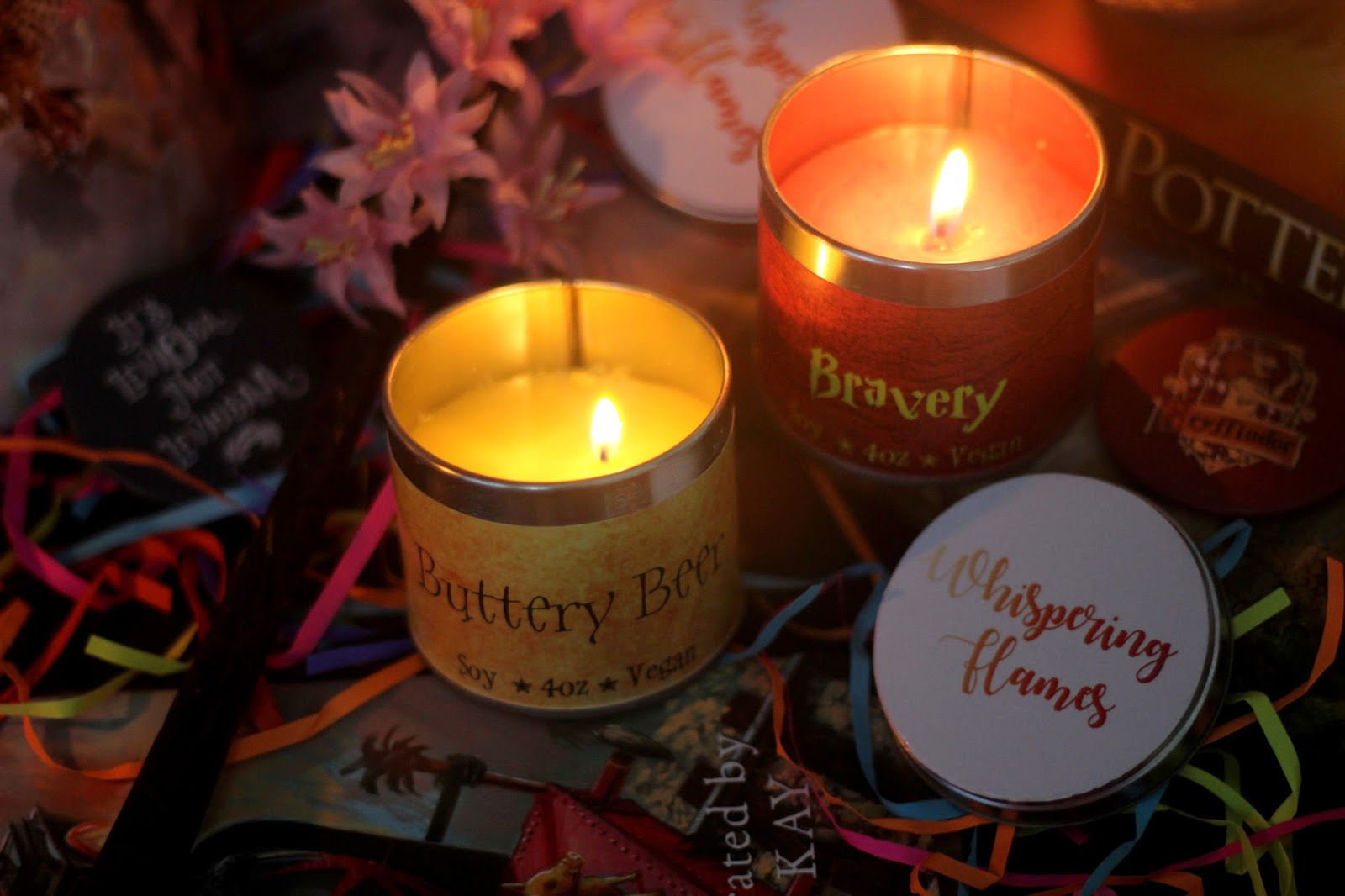 whispering flames bookish candles review book stop corner