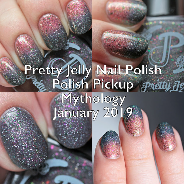 Pretty Jelly Nail Polish Polish Pickup Mythology January 2019