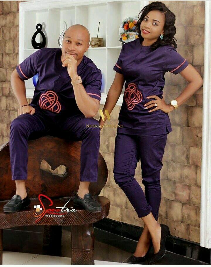Trendy Ankara Latest Fashion Styles For Couples-4904