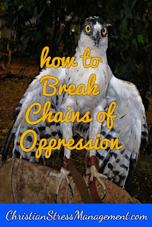 Christian spiritual warfare blog post How to break chains of oppression