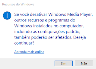 Recursos do Windows j