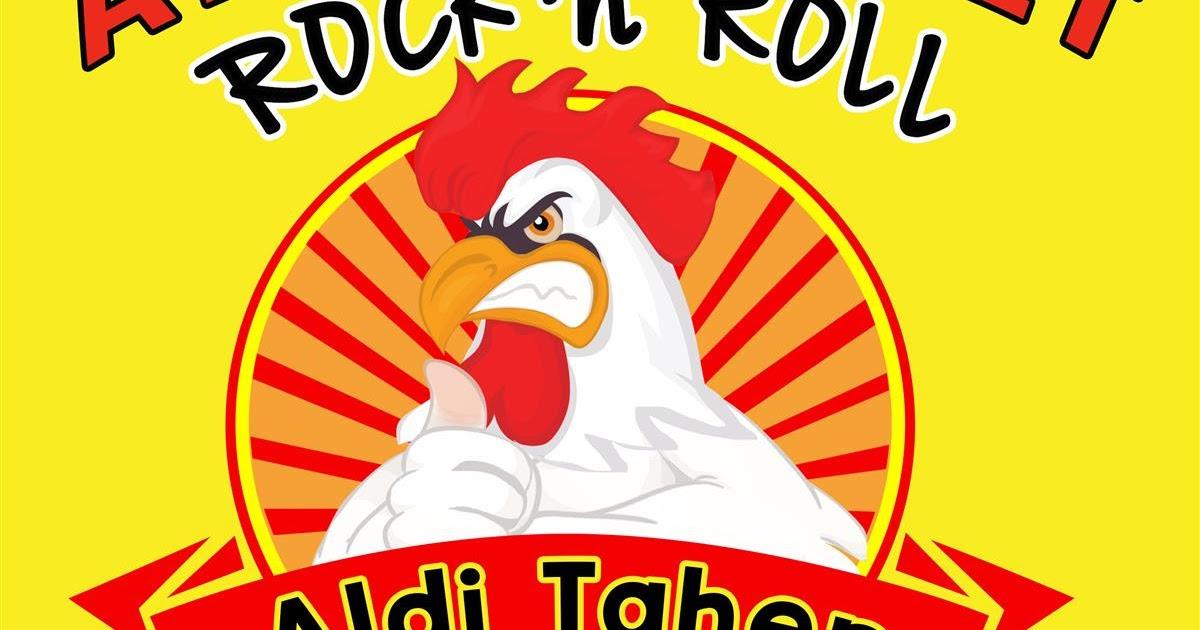 Logo Ayam Penyet Rock N Roll