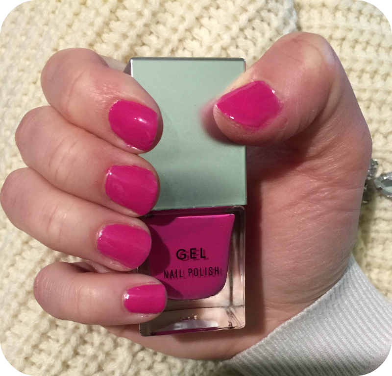 New Look Gel Nail Varnish in Electric Crimson review | Glitz and ...
