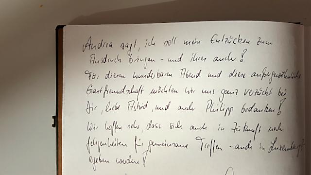 Gästebuch zum Arthurs Tochter Kocht-Supperclub | Arthurs Tochter Kocht von Astrid Paul