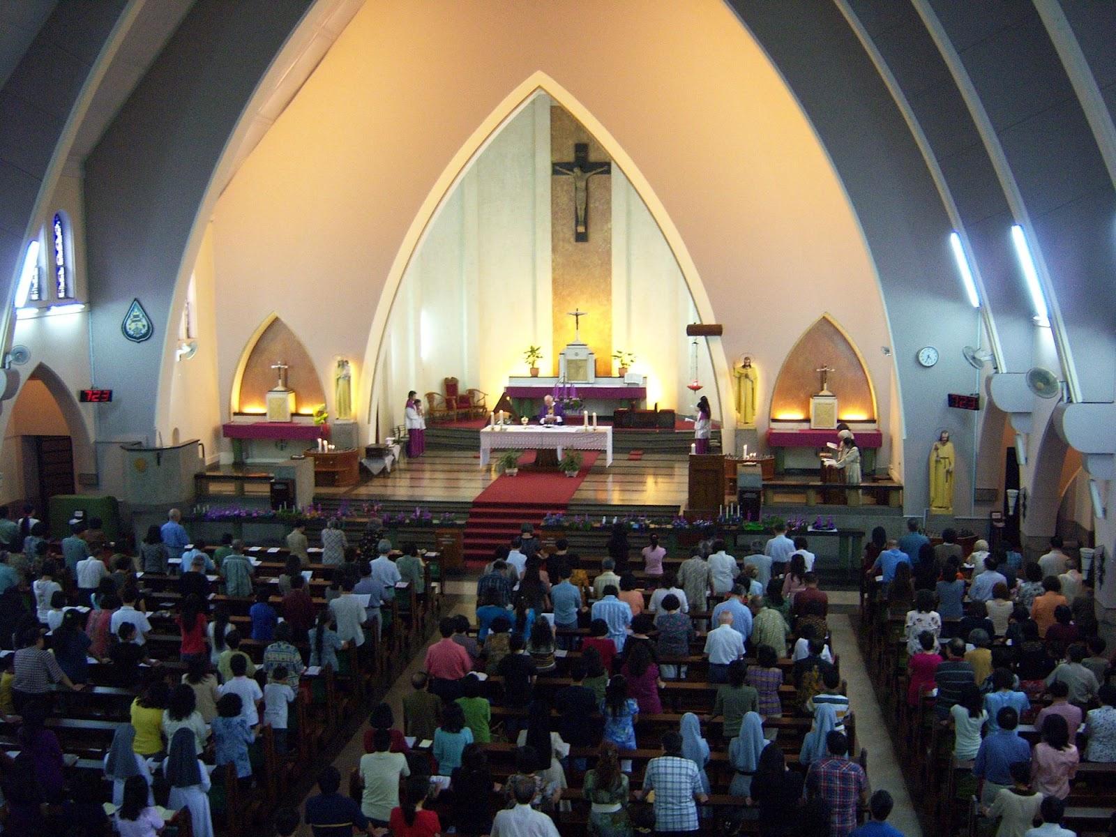 Gereja katedral ijen Malang Gereja katedral ijen Malang