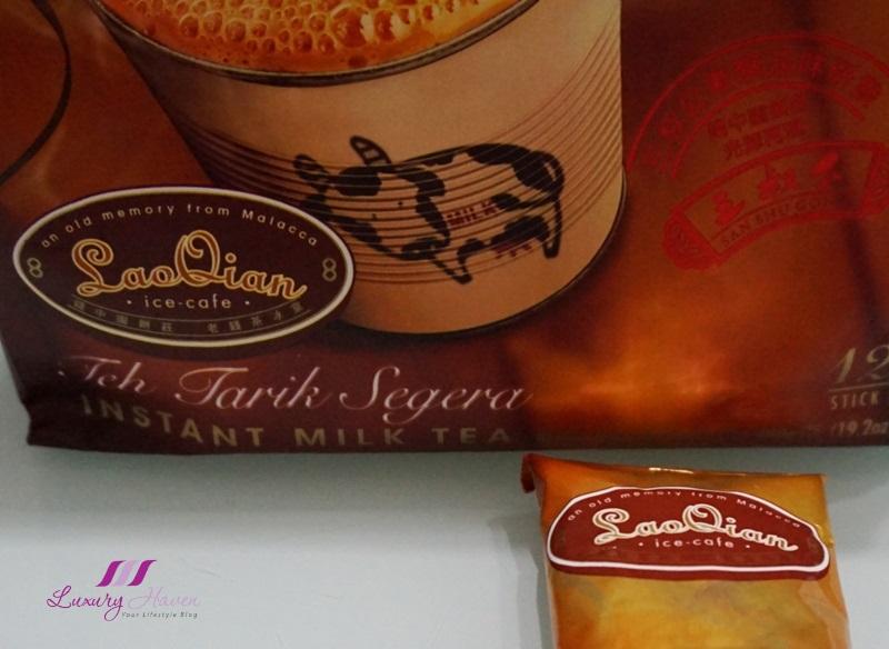 lao qian teh tarik milk tea