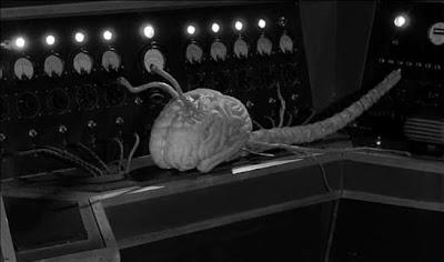 un 'Vampiro del Cerebro' de la película 'Fiend without a face'