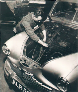 Standard Vanguard in Lambs Ltd workshop image 1