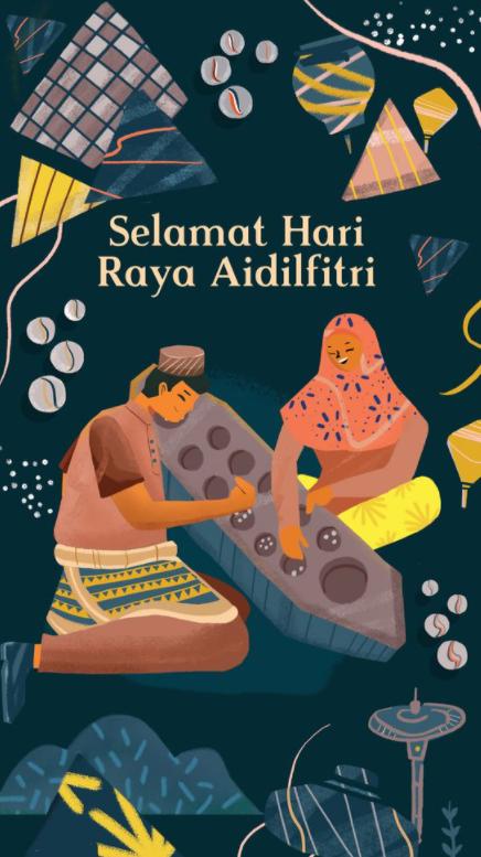 Daftar Desain kartu ucapan Selamat Lebaran & Idul Fitri - 2
