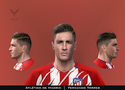 PES 6 Faces Fernando Torres by Adam & The Kid Facemaker