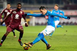 مشاهدة مباراة نابولي وتورينو بث مباشر اون لاين اليوم 17/2/2019 الدوري الايطالي Napoli vs Torino