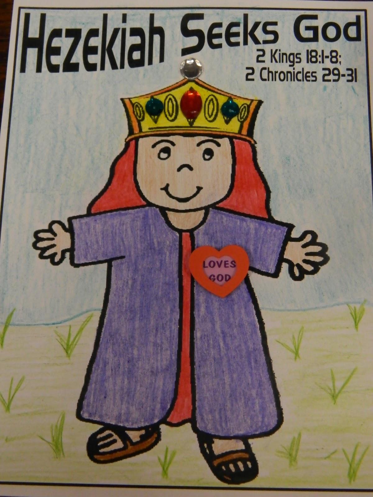 Hands On Bible Teacher Hezekiah A Godly King Of Judah