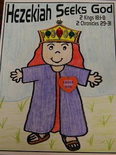 king hezekiah praying coloring pages - photo#27