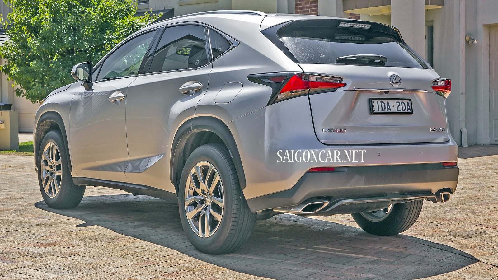 an toàn Lexus NX 200T 2019