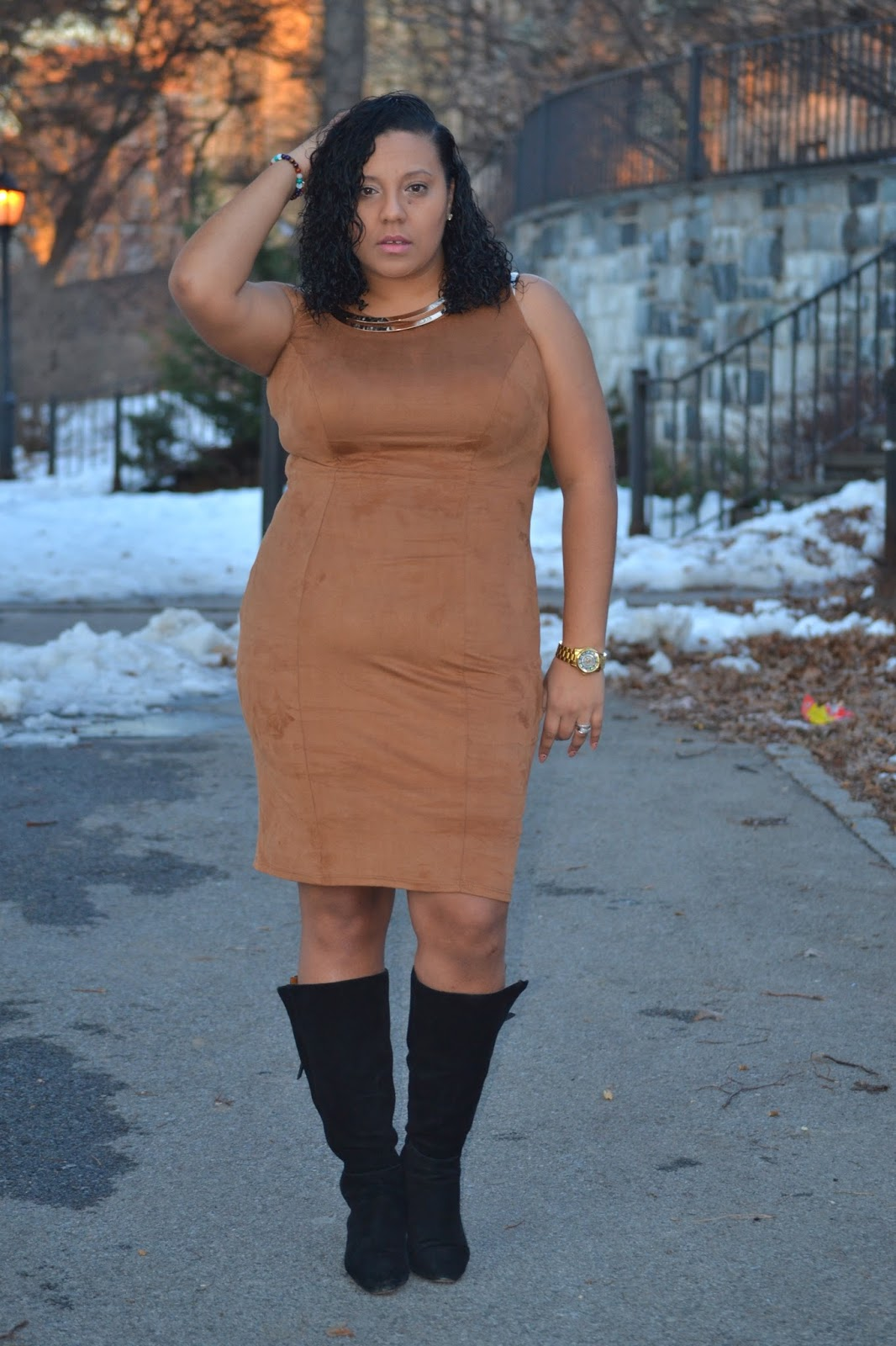 Suede Outfit