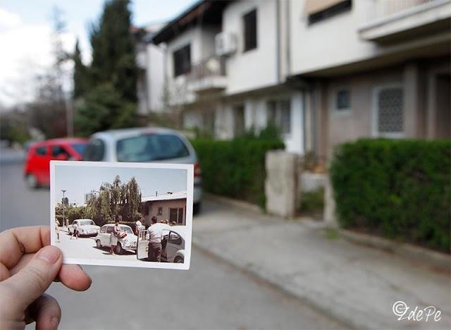 Bild des Tages - Skopje vorher-nachher