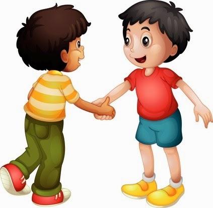 children handshake clipart - photo #17