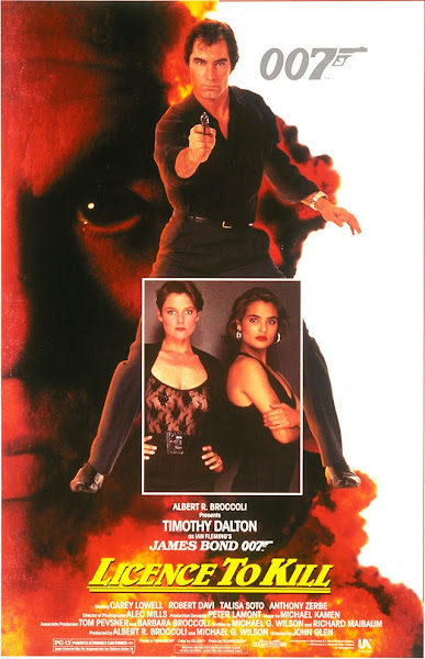 Poster Of James Bond Licence To Kill 1989 720p Hindi BRRip Dual Audio Download