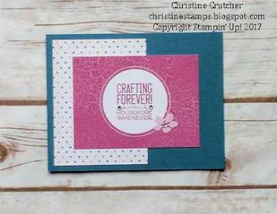 Stampin Up Crafting Forever