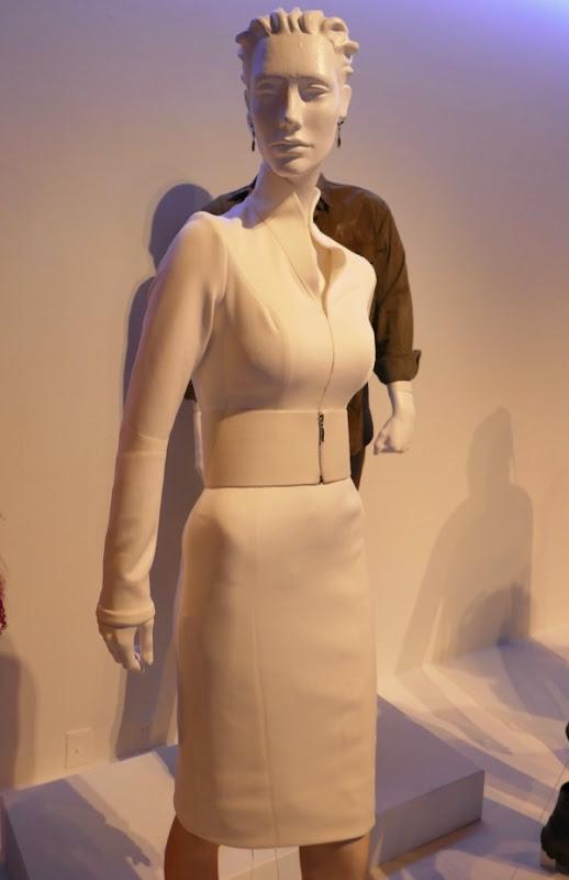Sylvia Hoeks Blade Runner 2049 Luv white dress