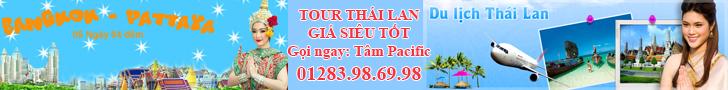 tour thai lan gia sieu tot goi ngay Tam Pacific Travel