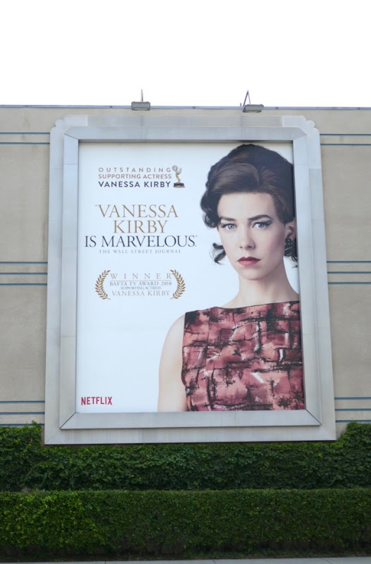 Vanessa Kirby Crown 2018 Emmy nominee billboard