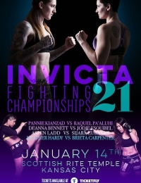 Invicta FC 21 Anderson vs Tweet