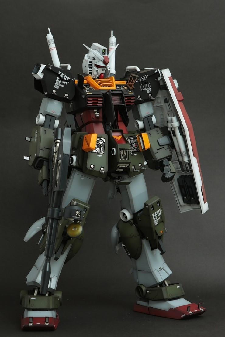 Custom Build 1 60 Rx 78 2 Gundam Quot Real Type Colors