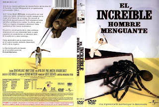 Carátula: El increíble hombre menguante (1957) The Incredible Shrinking